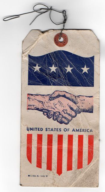 Found: USA Tag. 1 AUG. 57 / REDCROW Quality Goods & Supply Co.
