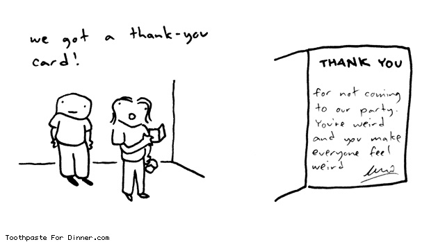 Love it!: Dinners, Daily Comic, Thank You Cards, Thanks You Cards