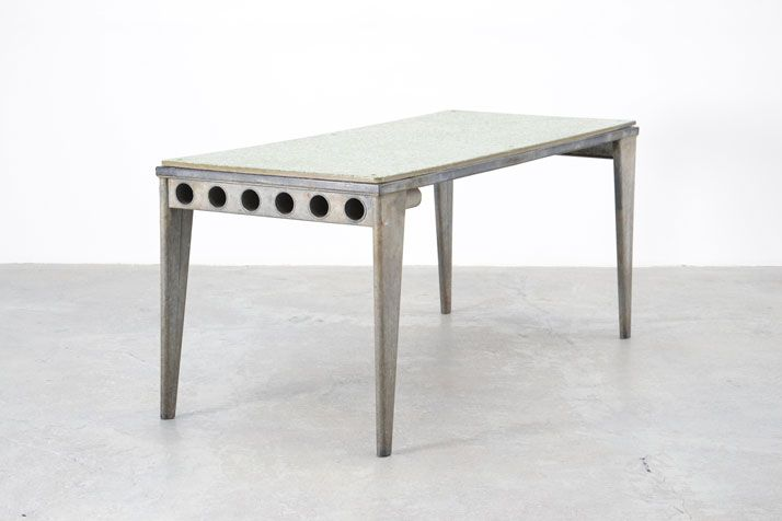 Jean Prouvé, Granipoli Table de Refectoire, 1939 Collection Laurence and Patrick Seguin