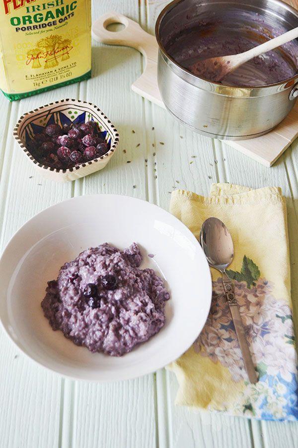 Blueberry & Lavender Porridge