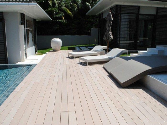 terassendielen resysta the better wood pool lounge