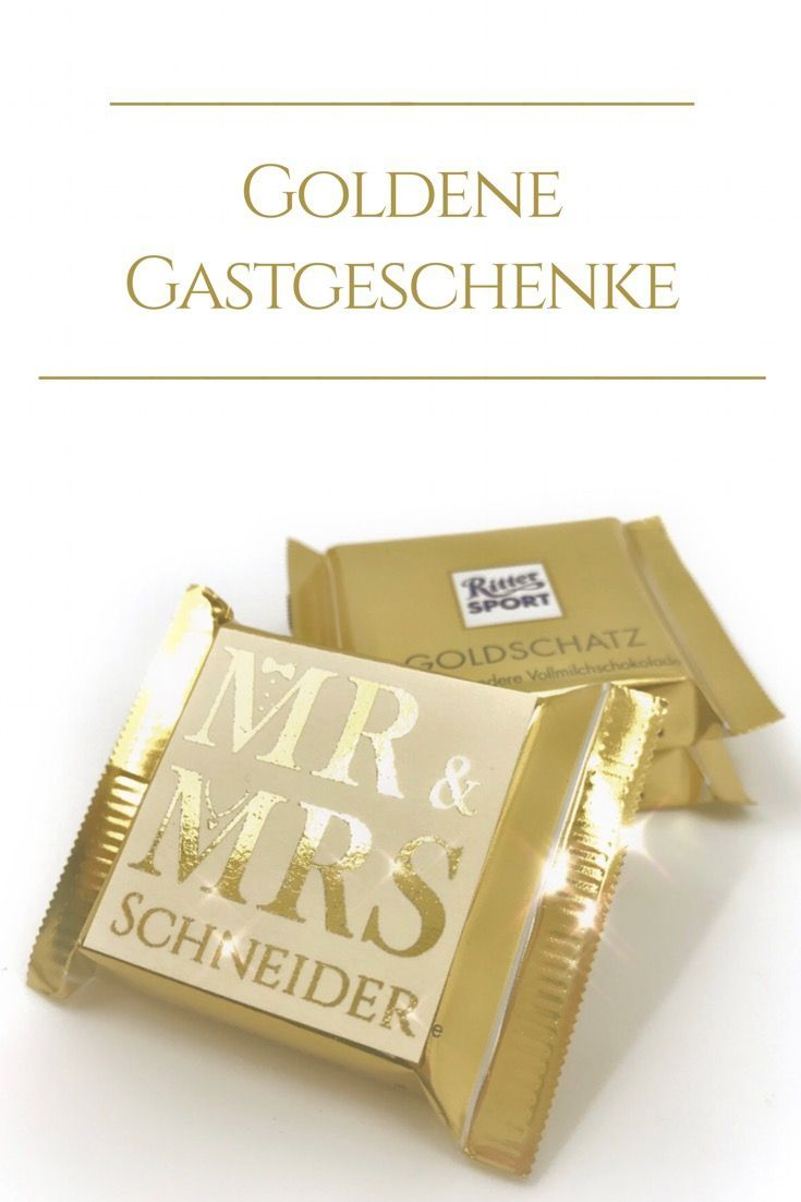 Chocolate Plates As Gifts Gold Plated Gold Lettering Square