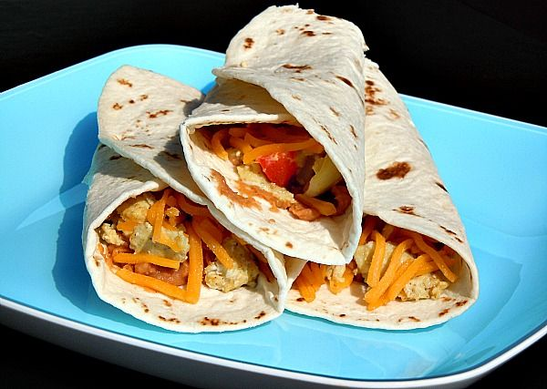 Frozen Postpartum Meals--Huevos Rancheros Breakfast Burritos: Freezers Recipe