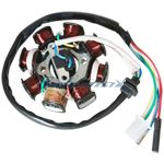 X-PRO<sup>®</sup> 8-Coil Magneto Stator for GY6 150cc Scooters, ATVs, Go Karts
