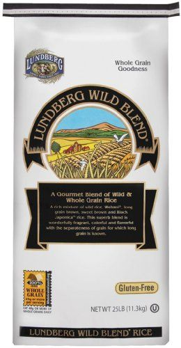 Save on Lundberg Farms 1X25Lb Eco-Fr Gourmet Wild Blend Rice Colorful To The Eye, Delightful Texture And Full-Bodied Flavor And Aroma All Come Together In This Blend Of Long Grain