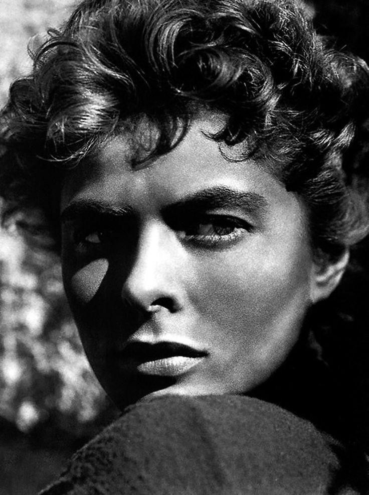 "Portrait of Ingrid Bergman in Sam Wood's ""For Whom the Bell Tolls"", 1943"
