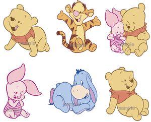 I LOVE baby Winnie the Pooh!!!!!