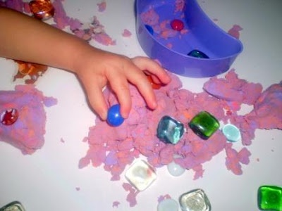 self directed sensory play from The Activity Mom