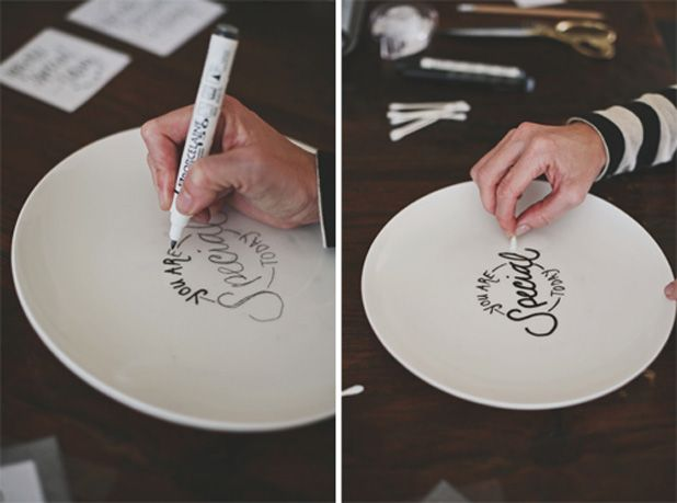 YouAreSpecialPlate ... tutorial showcases using this for special meals but why not make a set and remind yourself that you are special EVERY DAY!