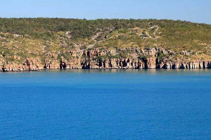 Scenic cruising along Kimberley Coast, Western Australia by Amanda Paul ( onboard Sea Princess)