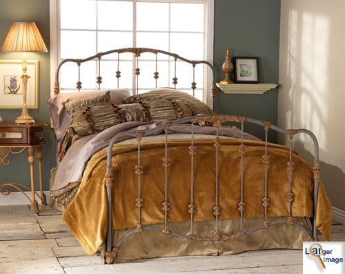 a great iron bed that caught my eye american made bed wrought