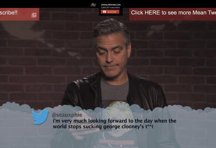 Celebs lezen weer nieuwe gemene tweets voor | Twittermania