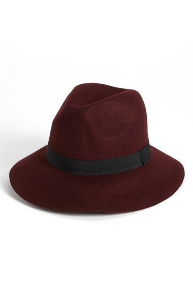 $28.00 Free shipping and returns on David & Young Felt Fedora (Juniors) at Nordstrom.com. Don this ribbon-trimmed fedora crafted from velvety felted wool for a classic sleuth-worthy style.