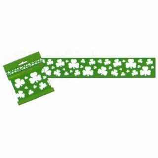 BE33120 - Shamrock Party Tape Party Tape Shamrock All Weather Poly 7cm x 6. Please note: approx. 14 day delivery