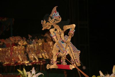 This is one puppet which made traditionally from a leather. #javanese #puppet #art #traditional