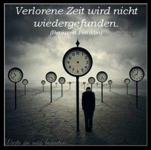 Verlorene Zeit...