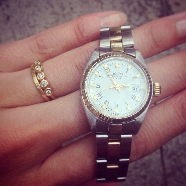 Rolex datejust lady ❤️