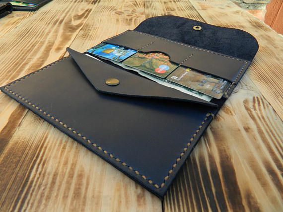 Leather travel wallet Leather wallet pattern Leather