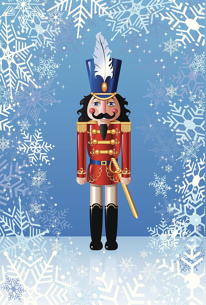 Vector Illustration Of A Christmas Nutcracker
