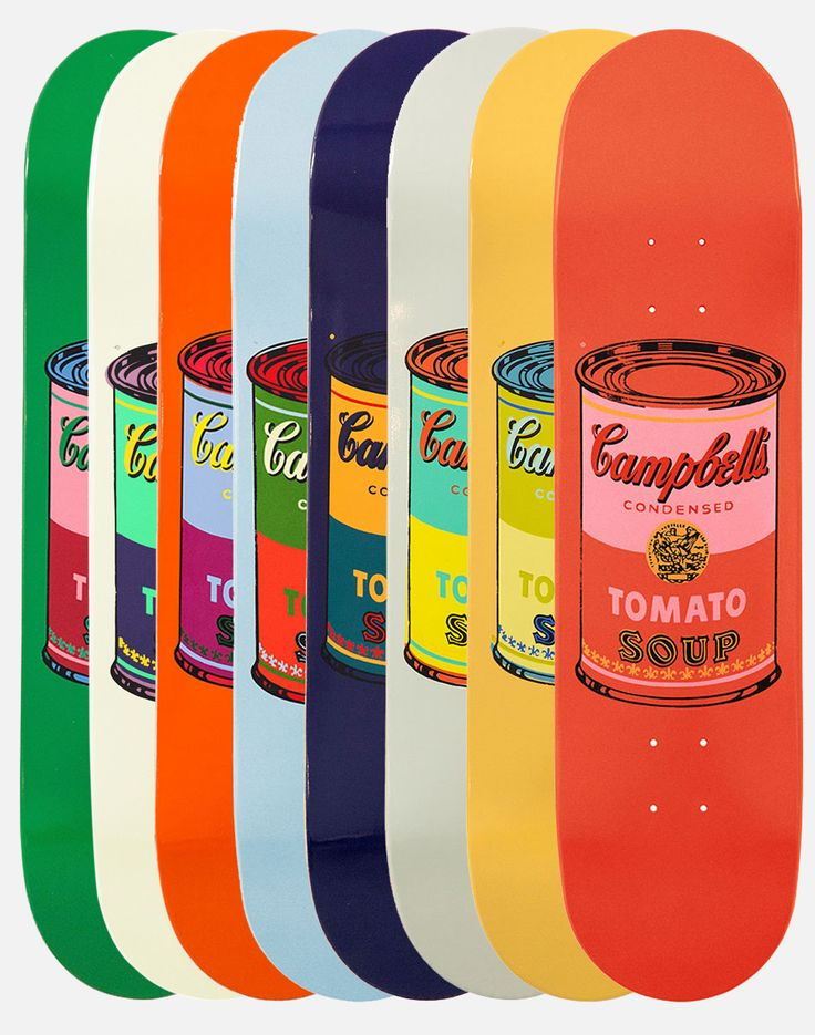 Skateboard Design Ideas find this pin and more on interesting boards longboards skateboards Andy Warhol Skate Decks Are Here Skateboard Designskateboard