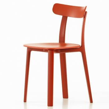 Vitra All Plastic Chair, brick | Vitra All Plastic | Tuolit | Huonekalut | Finnish Design Shop