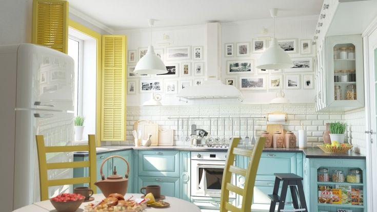 Уютная кухня - Галерея 3ddd.ru