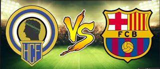 Portail des Frequences des chaines: Hercules vs FC Barcelona