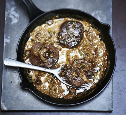 Invest in some rich game meat and serve pan-fried with a creamy porcini sauce for a seriously special supper