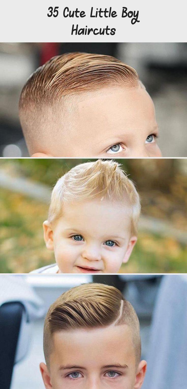35 Cute Little Boy Haircuts in 2020 | Little boy haircuts ...