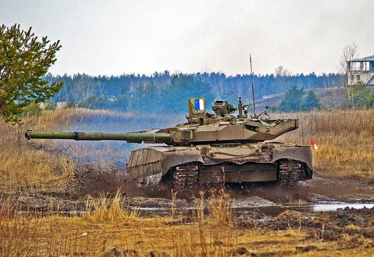 T-84 Oplot-M Ukrainian main battle tank.