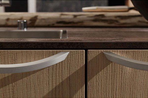 Kitchen minimalist Cult light and polished wood