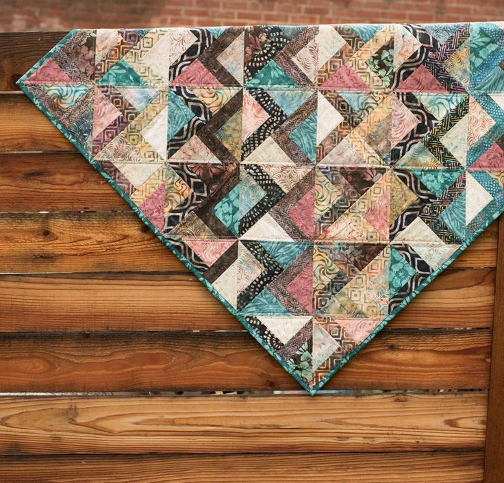Timeless Treasures Tonga Treats Winding Roads Quilt Kit - None