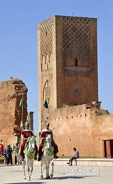 Tour Hassan, symbole de Rabat