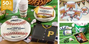 Pittsburgh Pirates Party Supplies - Party City #BUCtober #PittsburghPirates #LetsGoBucs