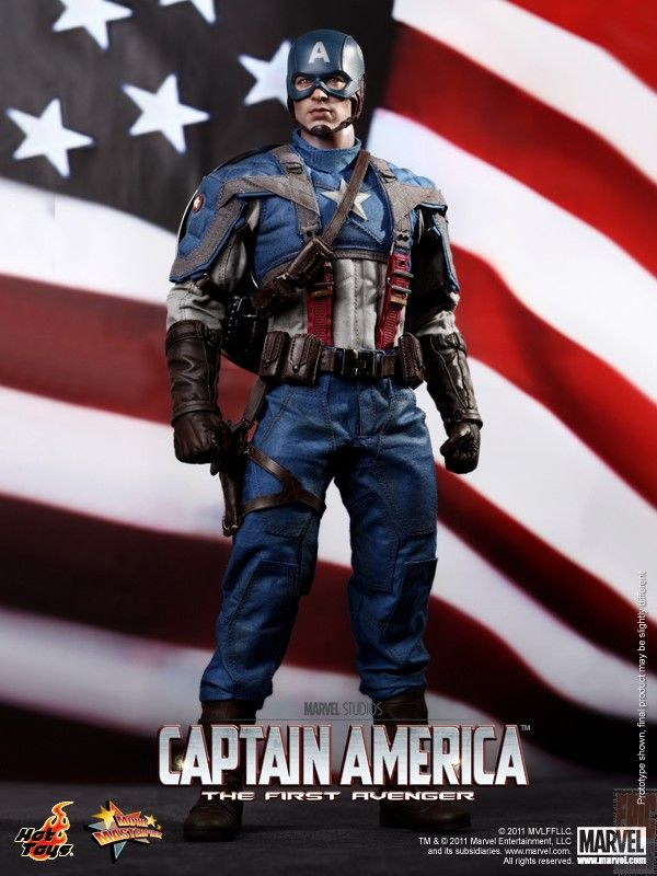 Hot Toys Captain America Avengers Endgame Movie Masterpiece Action Figure 1 6 Epicheroes Movie Trailers Toys Tv Video Games News Art In 2021 Captain America Marvel Captain America Captain