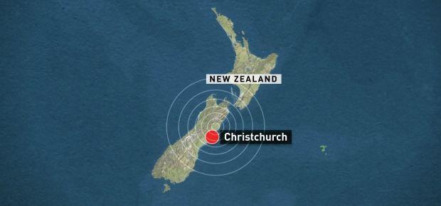 Christchurch quake map - 2016
