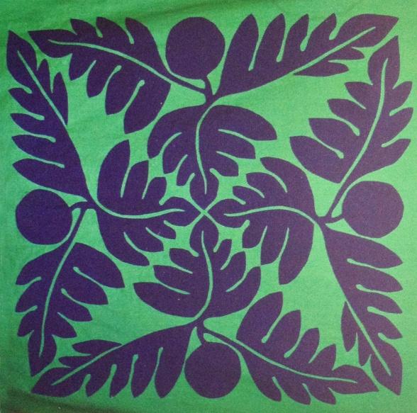 Tivaevae Applied Art Pattern Pinterest Hawaiian
