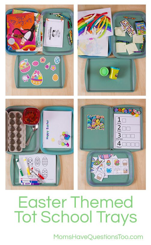 What are some Easter themed tot trays for my toddler's school? Smiley Man is 22 months old. With Easter so early this year, March is full of holiday stuff. I usually only do holiday-themed tot trays once a month (I change the tot trays every two weeks), but with Easter coming up so soon, I …