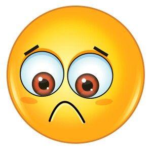 Resultado de imagen de cara de duda emoticon