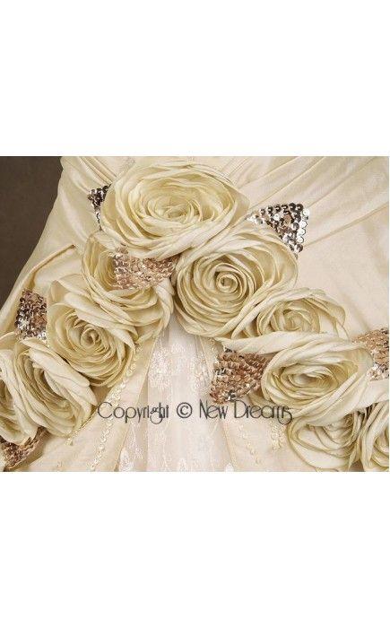 abito da sposa V1048-details wedding dress ball gown