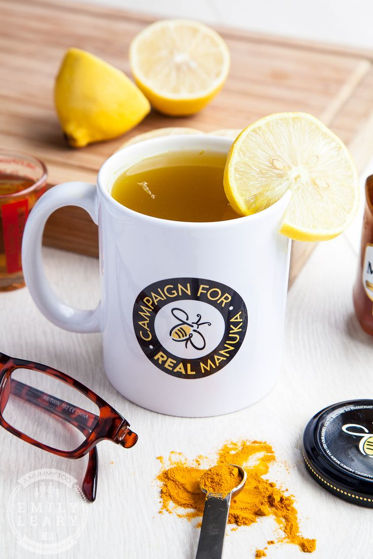 Got a cold? Cosy up with this Manuka honey and turmeric hot toddy. It's made from 1/4 tsp peppery turmeric for its reported anti-inflammatory properties and a good squeeze of fresh lemon for flavour and, some say, natural antiseptic.