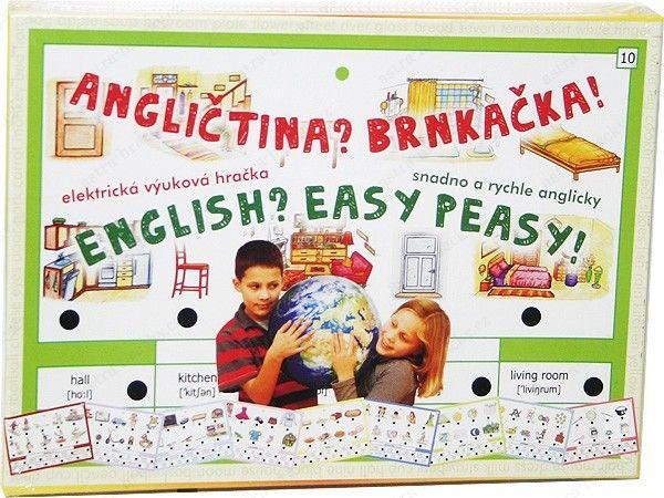Výuková hračka pro všechny děti, které se začínají učit angličtinu, ale i pro pokročilejší, kteří si chtějí zopakovat 160 z nejčastěji používaných anglických slovíček z 16 různých oblastí.