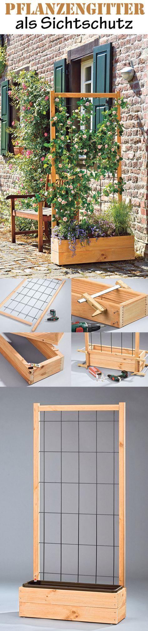 die 25 besten ideen zu sichtschutz selber bauen auf. Black Bedroom Furniture Sets. Home Design Ideas