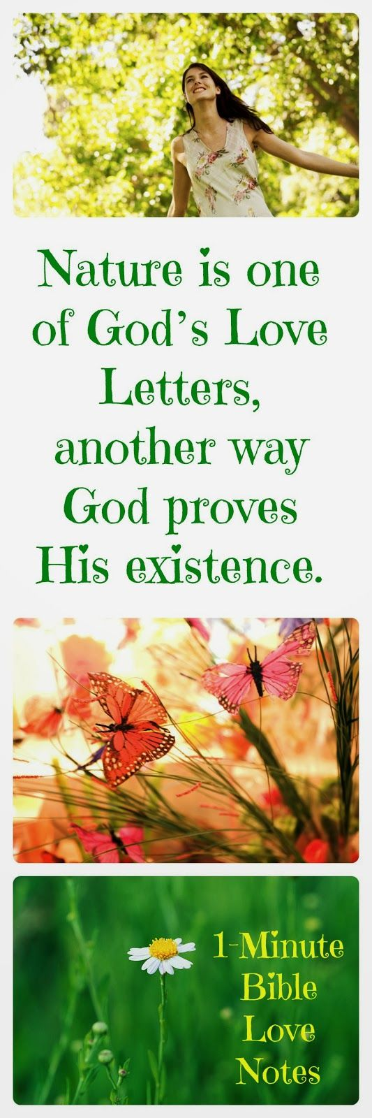 How can we see the complex design of God in nature and not realize that it contains so many messages from our Creator God? Yay, Jesus! We love your design.  Double click image to read 1-minute devotion about his subject.