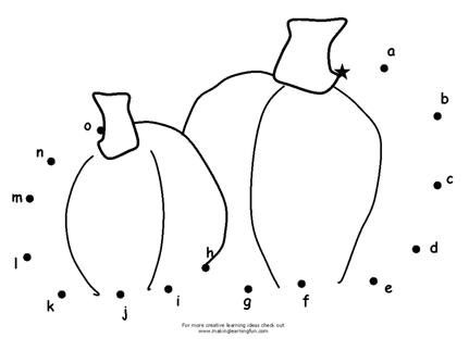 pumpkin abc dot to dot page and other pumpkin activity pages from making learning