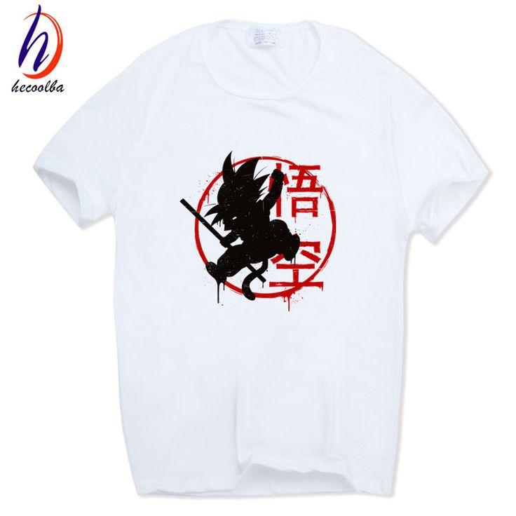 Hecoolba 2017 Dragon Ball Z Goku T shirt Short sleeve O Neck Tshirt Summer Saiyan Vegeta. Click visit to buy #T-Shirts