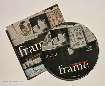 Ideazione e progettazione della confezione del CD di Massimiliano Calderai •Graphic designer Sonia Squilloni 2013