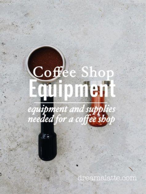 Coffee Shop Equipment #dreamalatte