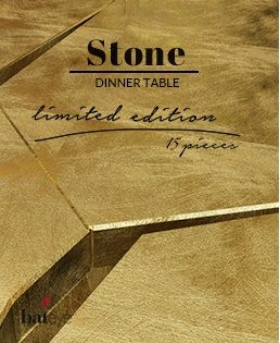 STONE | limited edition table www.bateye.com #bateye #bateyecollection #bateyepieces #luxury #luxuryfurniture #limitededition