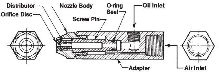 Siphon Nozzle Waste Oil Burner Venturi Siphon Nozzles